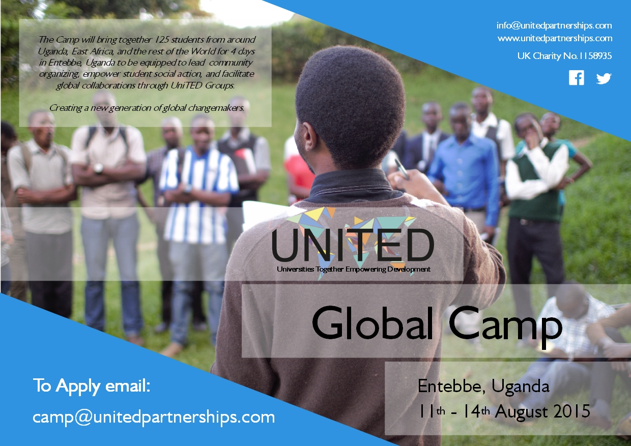 UniTED Camp Poster