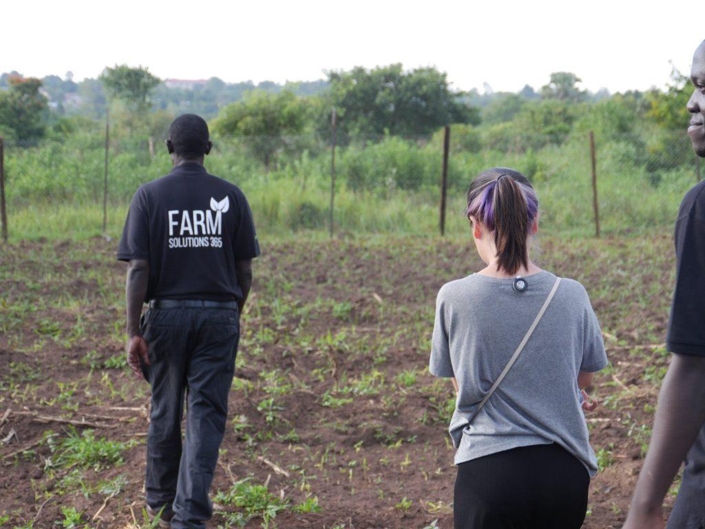 Chloe in Field