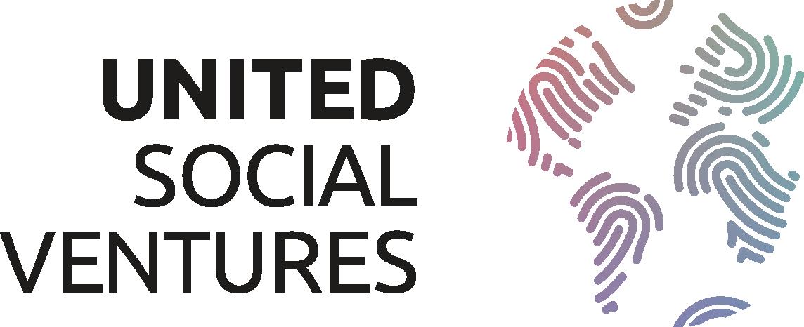 United Social Ventures Open Circle 4-C negative colour