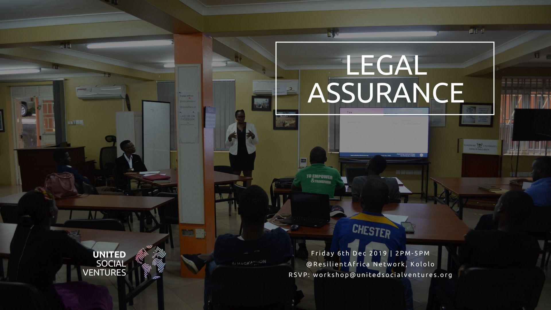 191206 Legal Assurance Workshop