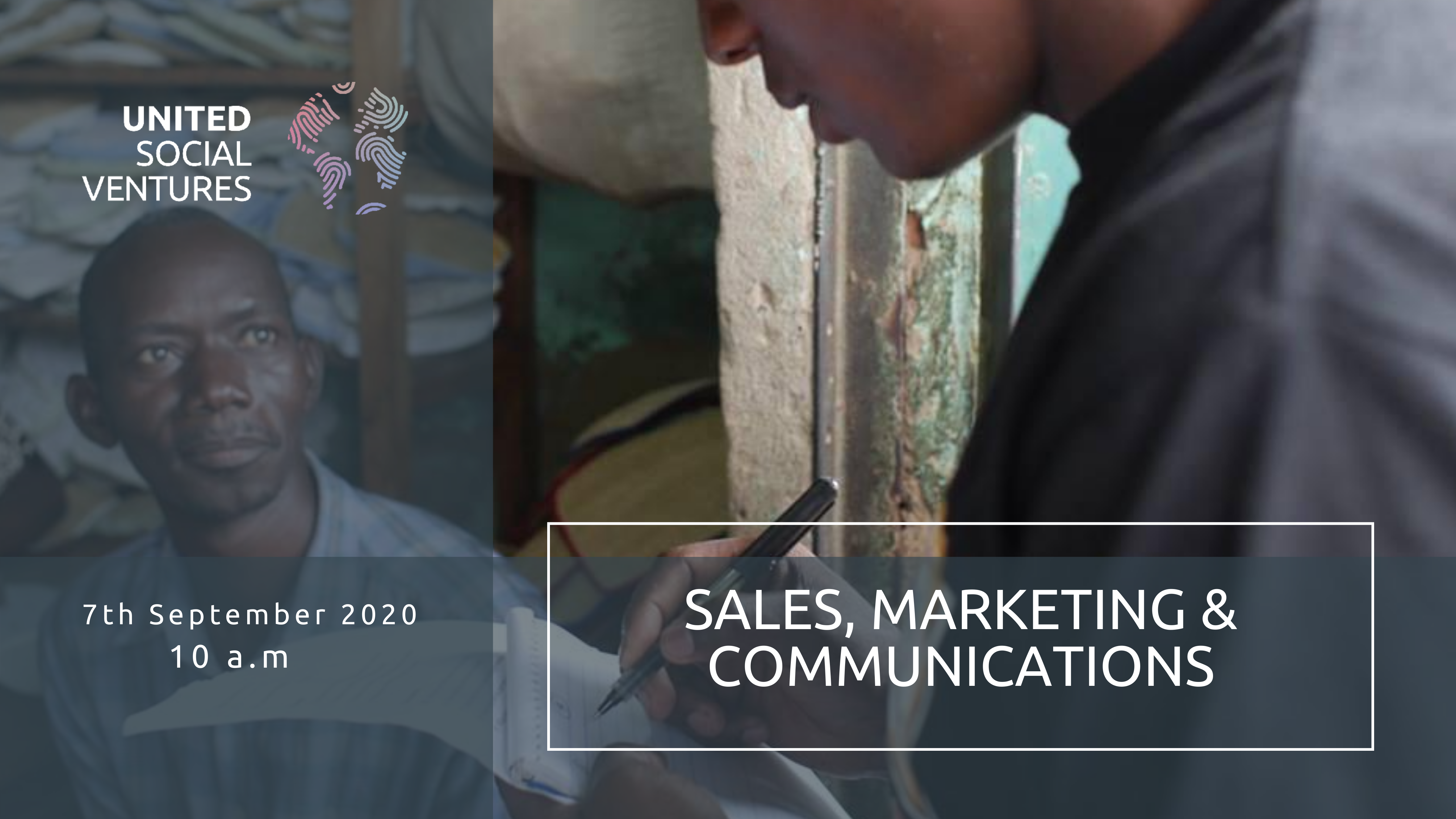Sales, marketing & communcations