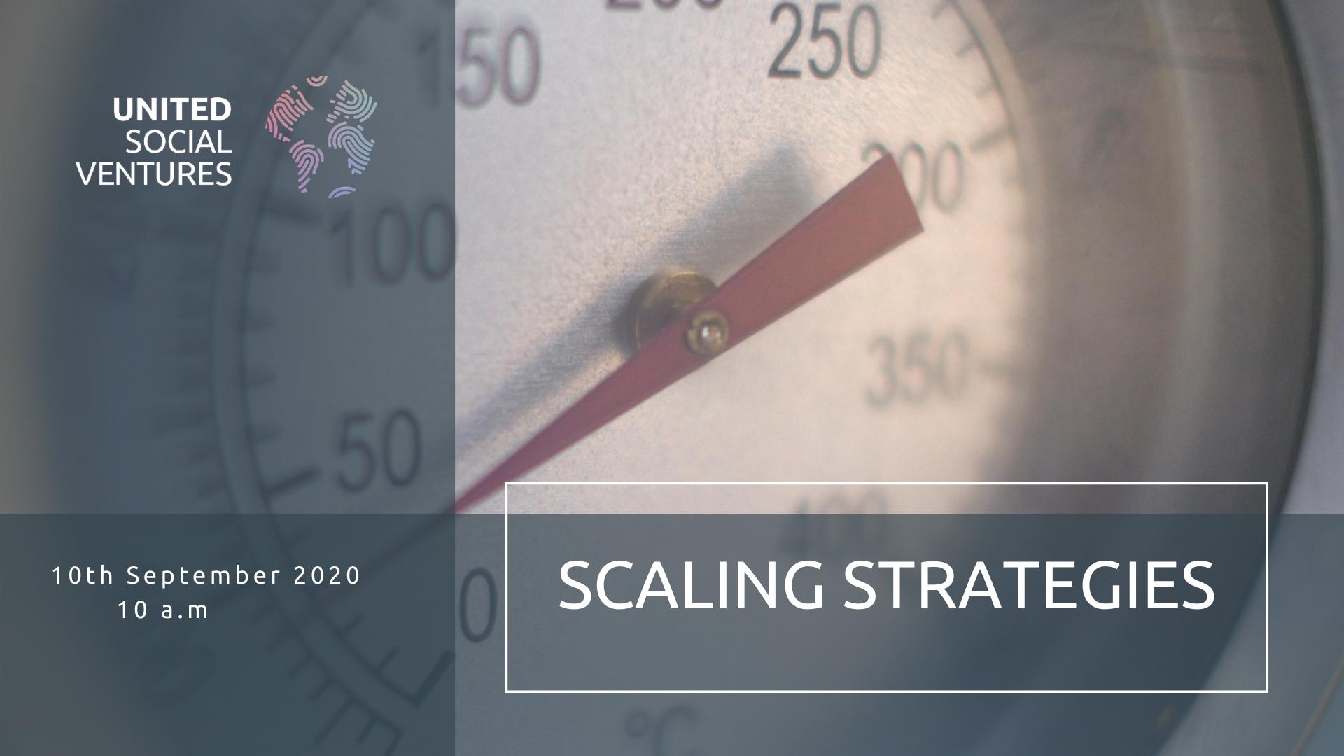 Scaling strategies